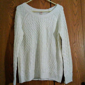 MOSSIMO Women's Cable Sweater